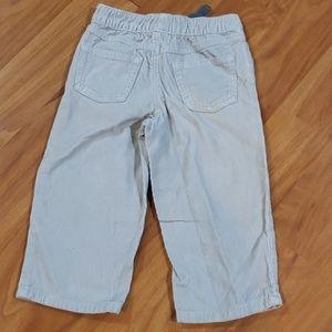 Carter's Bottoms - Carter's Velvet Jeans